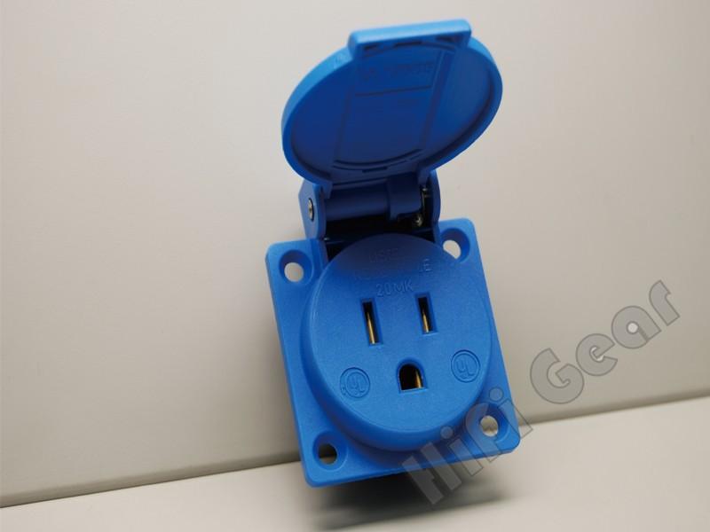 ABL Socket outlet US Blue color